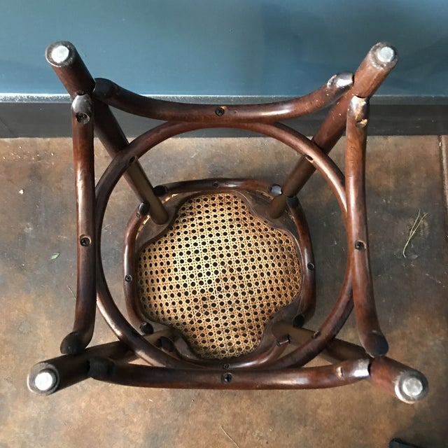 Bentwood Caned Counter Stool - Image 5 of 5