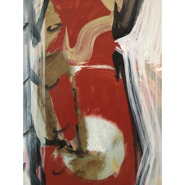 Ranieri Abstract Oil on Masonite Painting - Image 5 of 5