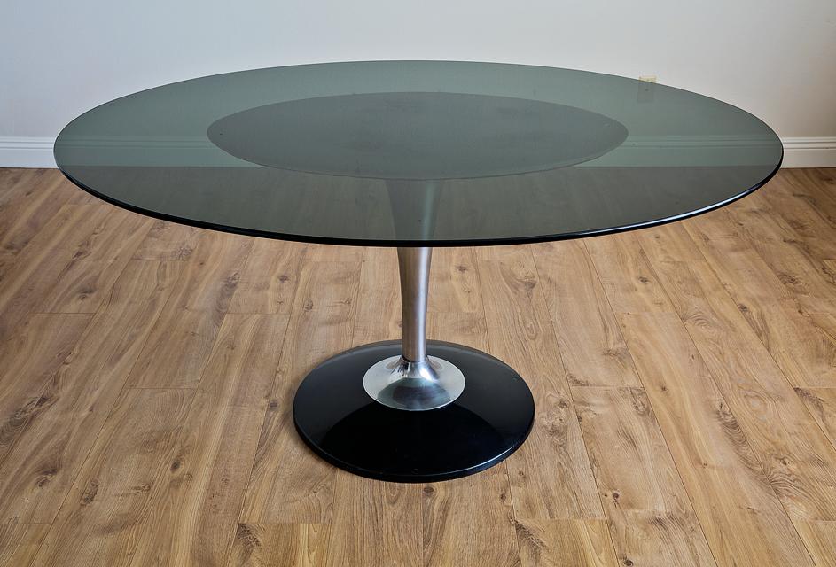 Chromcraft Dining Room Furniture chromcraft tulip dining set, saarinen inspired | chairish
