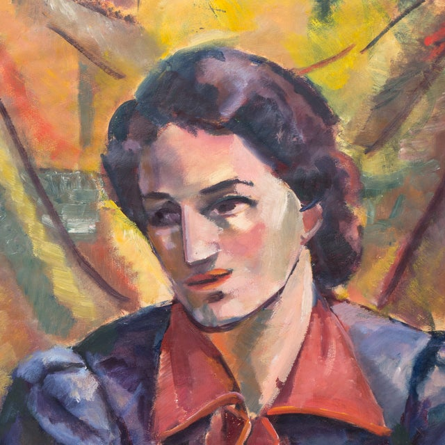 Image of Portrait of a Woman by Virginia Sevier Rogers