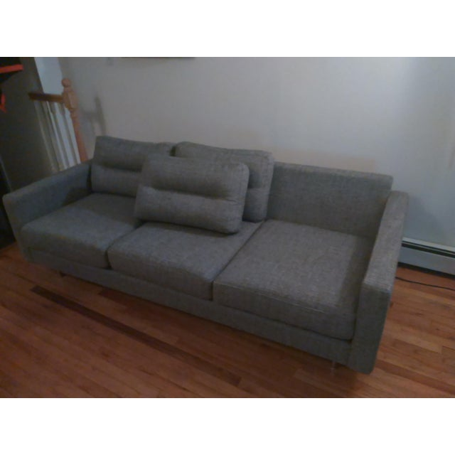 Gus Modern Sterling Gravel Logan Sofa - Image 4 of 5