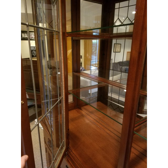 Wooden China Cabinet - Image 6 of 11