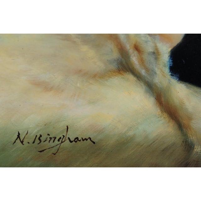 Reclining Female Oil Painting by N. Bingham - Image 6 of 8