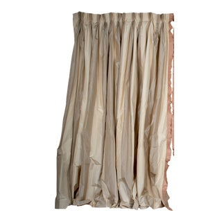 Hand Fabricated Silk Curtains