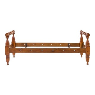 American Provincial Maple Daybed, 19th Century