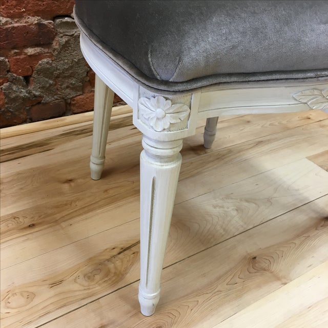 Swedish Gustavian Style Side Chair - Image 8 of 9