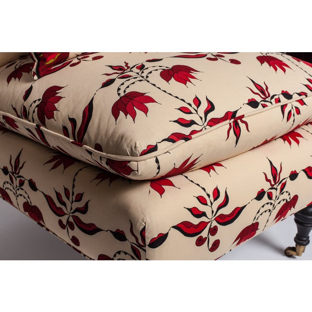 Image of Lulu Dk Upholstered Chairs With Pillows - A Pair