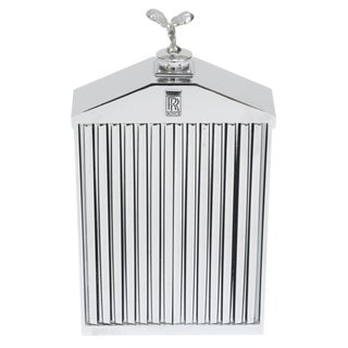 English Rolls Royce Chrome Grill Bottle