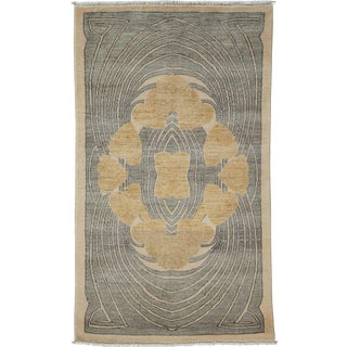 """Shalimar Hand Knotted Area Rug - 3' 2"""" X 5' 3"""""""