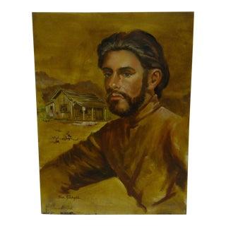 C. 1968 Steve Radcliffe Portrait by t.b. Sturges Jr. Painting