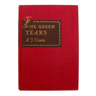 Cronin's The Green Years - 1st Edition Book