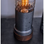 Image of Ted Harris Etched Glass Lamp