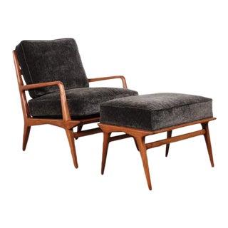 Lounge Chair and Ottoman by Carlo de Carli