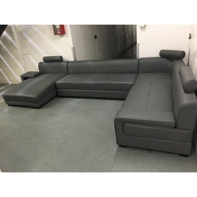 Modern Gray Sectional Sofa - Image 8 of 8