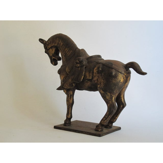 Chinese Ceremonial Metal Horse - Image 6 of 6