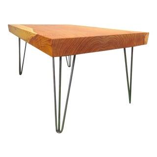 California Redwood Coffee Table