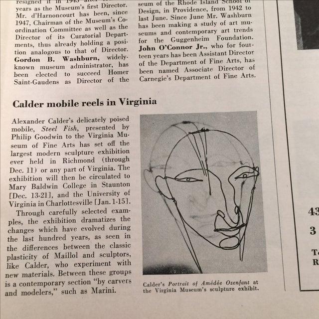 Artnews November 1949 Magazine - Image 4 of 10