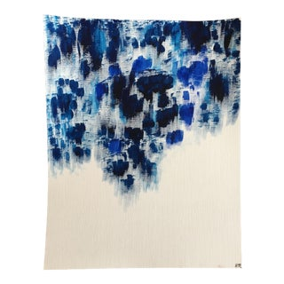 "Modern ""One Blue"" Original Acrylic Painting"