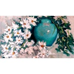 Image of Impasto Oil Painting of Daisies