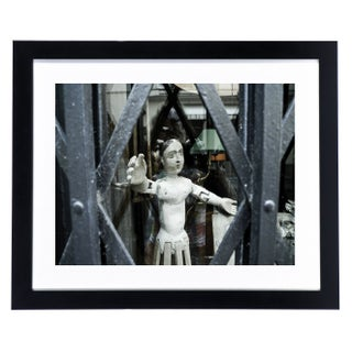 """Doll Caged"" Framed Original Photograph"