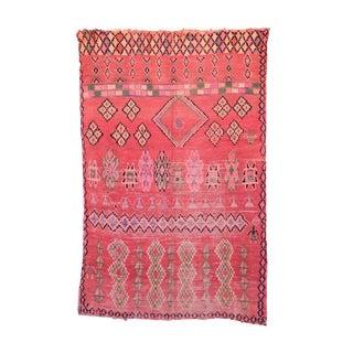 "Boujad Vintage Moroccan Rug, 6'2"" x 9'4"" feet / 188 x 285 cm"