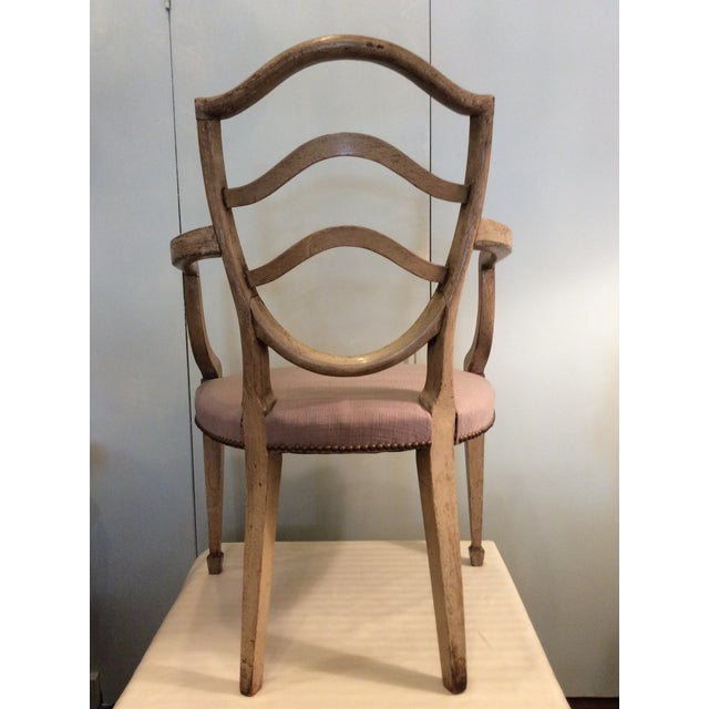 Fine Hepplewhite Open Chair-Late 18th Century - Image 4 of 8