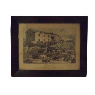 "Original 1877-1894 ""Noah's Ark"" Lithograph"