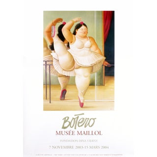 """La Ballerina"" by Fernando Botero"