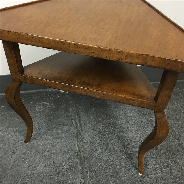 Minton-Spidell French Corner Side Table - Image 4 of 9