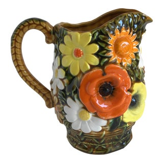 Mid-Century Inarco Daisy Pitcher or Vase