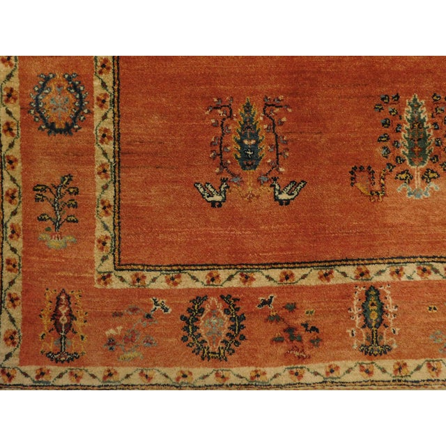 Persian Tribal Runner Rug - 6' X 7'