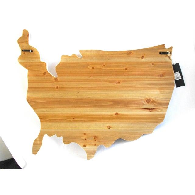 Rustic Wood American Flag Wall Art Chairish