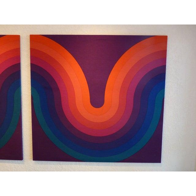 Verner Panton Large Panels - Pair - Image 3 of 6