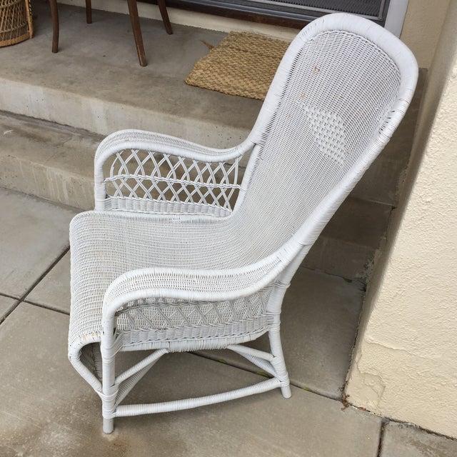 Vintage Dryad Art Deco Wicker Armchair Chairish