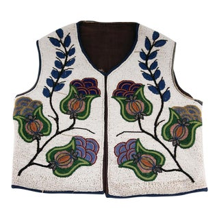 Plateau Native American Beaded Vest