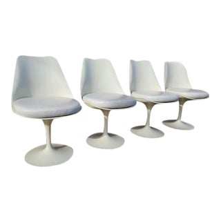 Eero Saarinen X Knoll Tulip Chairs - Set of 4