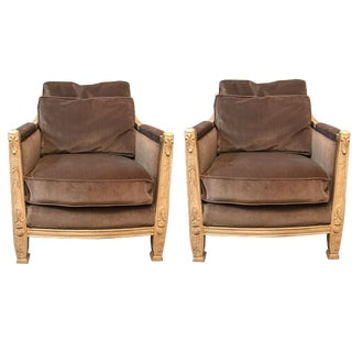 French Louis XVI Drexel Chair - A Pair
