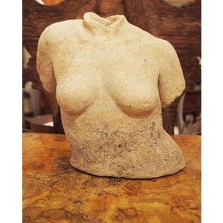 Terracotta Female Torso