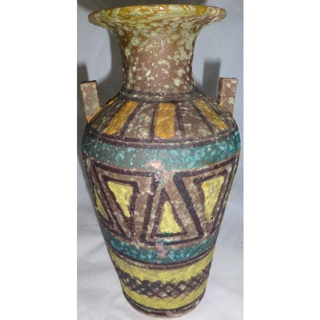 Mid Century Gambone Style Italian Vase - Image 2 of 9