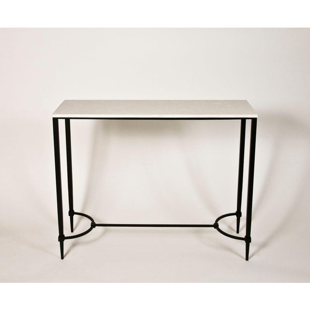 Mismatched Fuller Console With White Marble - Image 2 of 3