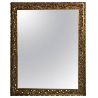 Giltwood Mirror with Beautiful Scroll Work