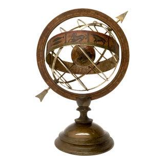 Vintage Armillary Astrological Globe