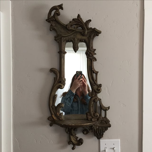 Antique Ornate Victorian Mirror - Image 2 of 6