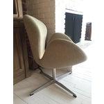 Image of Modernomato Mid-Century Modern Swan Chair