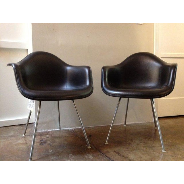 Image of Black Herman Miller Chairs - a Pair