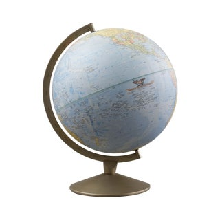 Vintage 1960's Replogle Comprehensive Globe