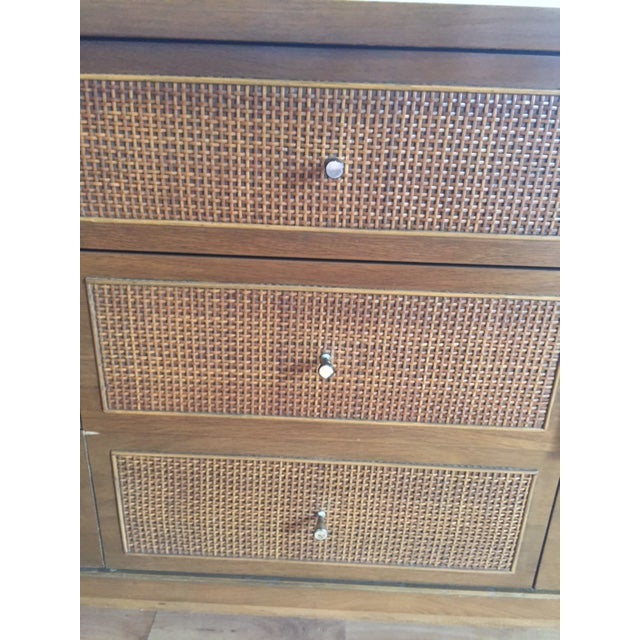 Image of Mid-Century Modern 9-Drawer Low Boy Dresser