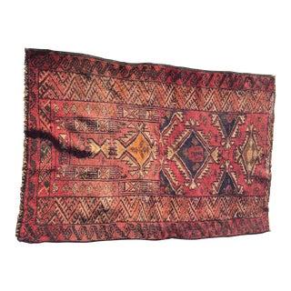 "Baluchi Persian Rug, 2'5"" x 3'7"""