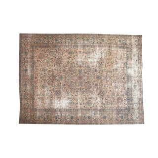 "Vintage Lavar Kerman Carpet - 8'11"" x 12'2"""