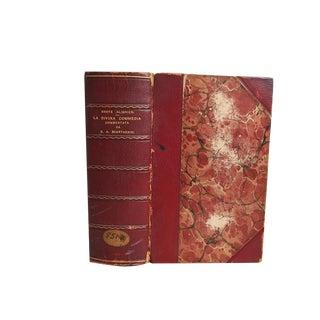 """La Divina Commedia"" 1903 Italian Book"